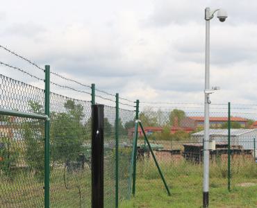 Sicherheitssystem Solarpark