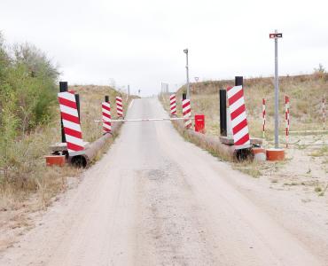 Zufahrtsregelung für Werkseinfahrten Kieswerk